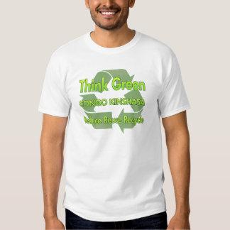 Think Green Congo Kinshasa Tshirt