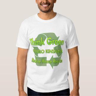 Think Green Congo Kinshasa Tshirts