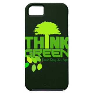 Think Green custom iPhone 5 Case-Mate iPhone 5 Covers