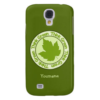 THINK GREEN custom phone cases