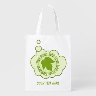 THINK GREEN custom reusable bag