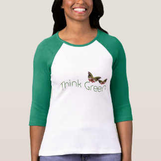 Think Green, customizable t-shirt