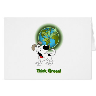 Think Green - Cutie Card