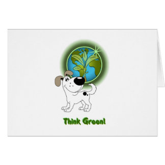 Think Green Cutie Cards