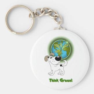 Think Green Cutie Keychains