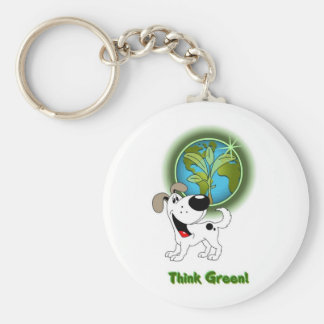 Think Green - Cutie Key Chain