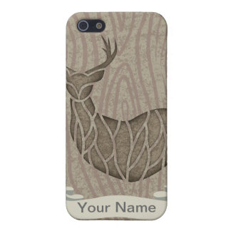 Think Green Deer wooden iPhone 5 Covers