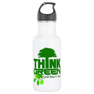 THINK GREEN (Earth Day) 532 Ml Water Bottle