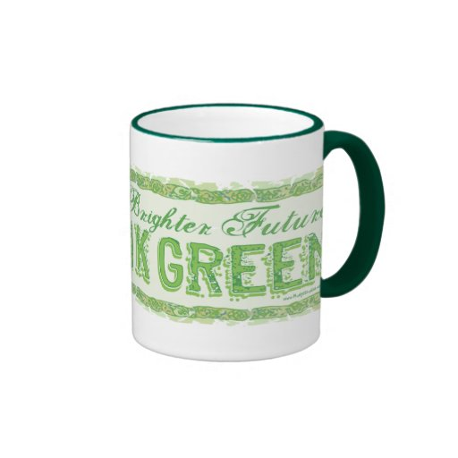 Think Green Earth Day Gear Mugs