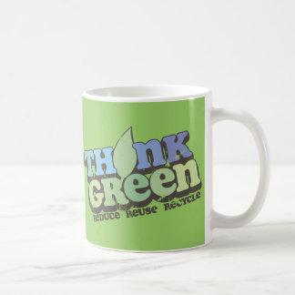 Think Green Earth Day Mug