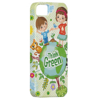 Think Green Eco Kids iphone5 case iPhone 5 Case