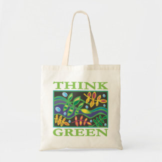 Think Green Environmental Budget Tote Bag