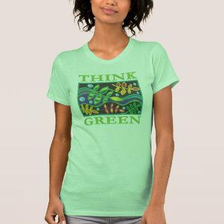 Think Green Environmental Tshirts