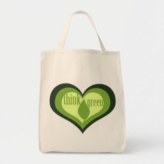 Think Green for Earth Day Tote Bag