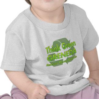 Think Green Greneda T Shirts