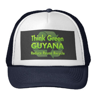 Think Green Guyana Cap