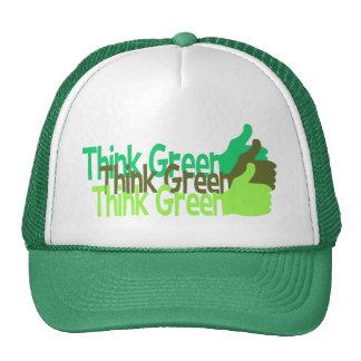 Think Green hat