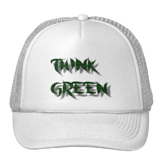 THINK GREEN-HAT