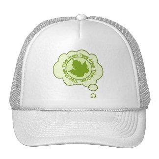 Think Green hat - choose color