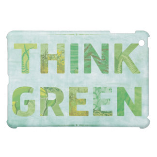 Think Green  Cover For The iPad Mini