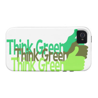 Think Green iPhone 4 Case-Mate