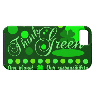 Think Green iPhone 5 Case-Mate