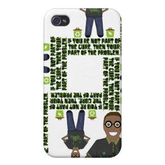 Think Green iPhone 4 Covers