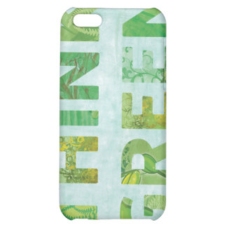 Think Green iPhone 5C Covers