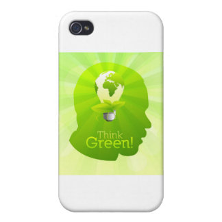 Think Green iPhone 4/4S Cover