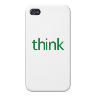think (green) iPhone 4/4S case