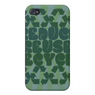 Think Green iPhone 4/4S Cases