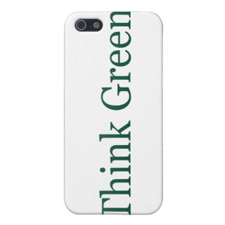 Think Green Case For iPhone 5