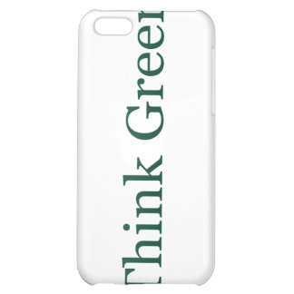 Think Green Cover For iPhone 5C
