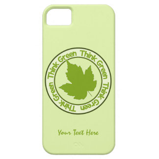 THINK GREEN iPhone cases iPhone 5 Covers