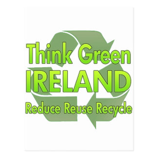 Think Green Ireland Postcard