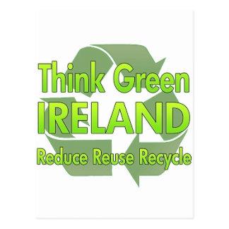 Think Green Ireland Post Card