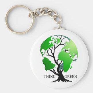 Think Green Keychains