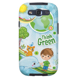 Think Green Kids Galaxy SIII Case