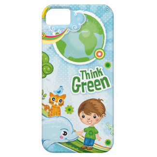 Think Green Kids iphone5 case iPhone 5 Cover