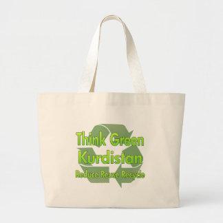 Think Green Kurdistan Jumbo Tote Bag