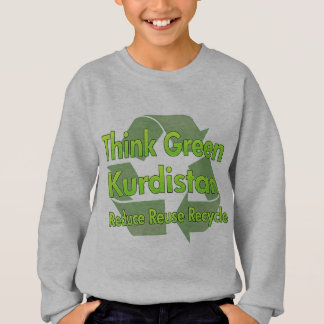 Think Green Kurdistan T-shirt