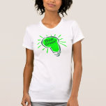 Think Green! Ladies Twofer Sheer (Fitted) Tee Shirt