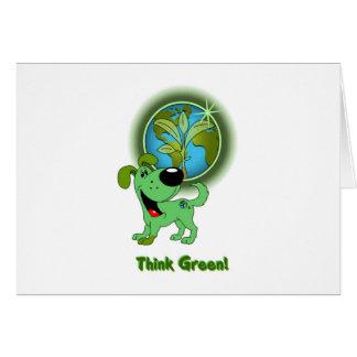 Think Green - Leaf Cards