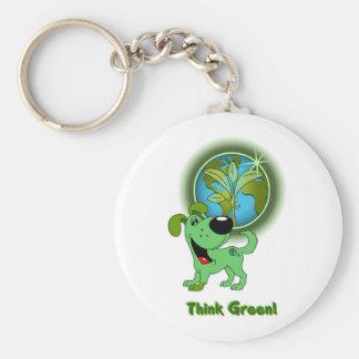 Think Green - Leaf Key Chains