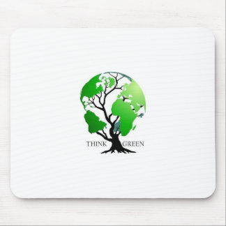 Think Green Mouse Mat