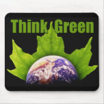 Think Green Mouse Mats
