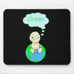 Think ... Green Mouse Pads