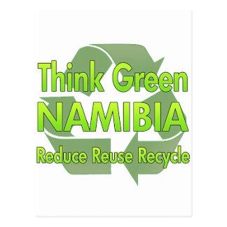 Think Green Namibia Postcard