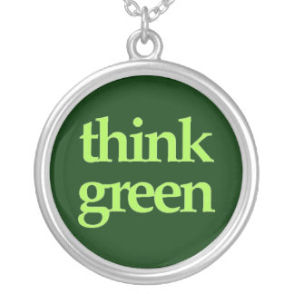 Think Green necklace