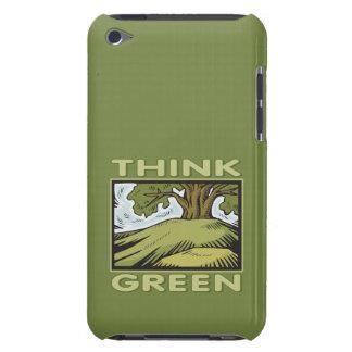 Think Green Oak Tree iPod Touch Case